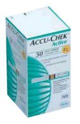 Tesztcsík Accu-Chek Active tesztcsík  50/doboz