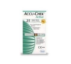 Tesztcsík Accu-Chek Active tesztcsík  25/doboz
