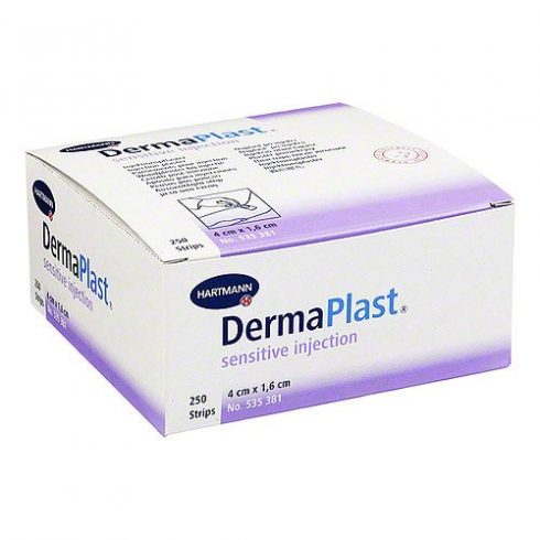 DermaPlast® Sensitive Injection sebtapasz (16x40 mm) - 250 db / csomag