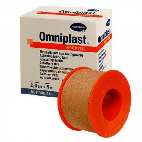 Omniplast® ragtapasz (2,5 cm x 5 m) - tekercses