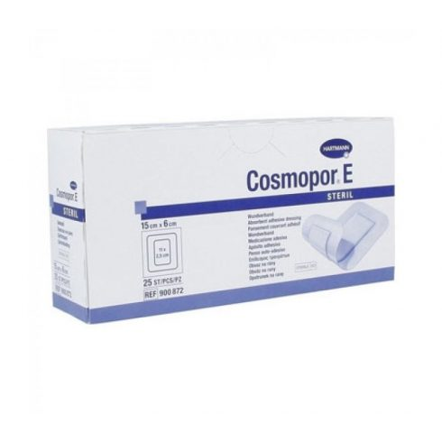 Cosmopor® E steril szigetkötszer (15x6 cm) - 25 db / csomag