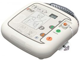 Paramedic CU-SP1 félautomata vagy automata defibrillátor készülék