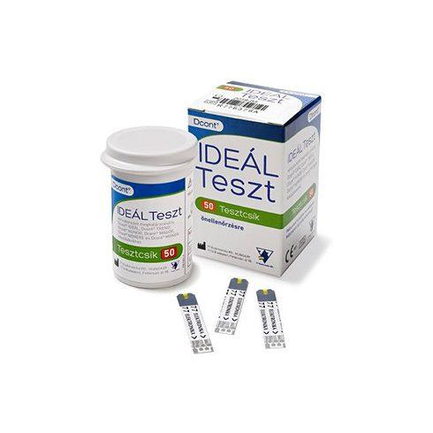 Dcont® IDEÁL tesztcsík - 50 db/doboz