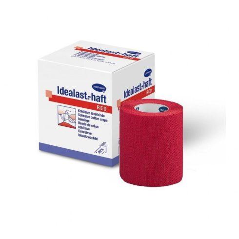 Idealast®-haft color pólya (8 cm x 4 m) - piros színű - tekercses