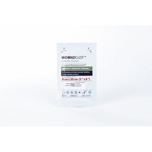 WoundClot® Trauma vérzéscsillapító kötszer - 8x20 cm
